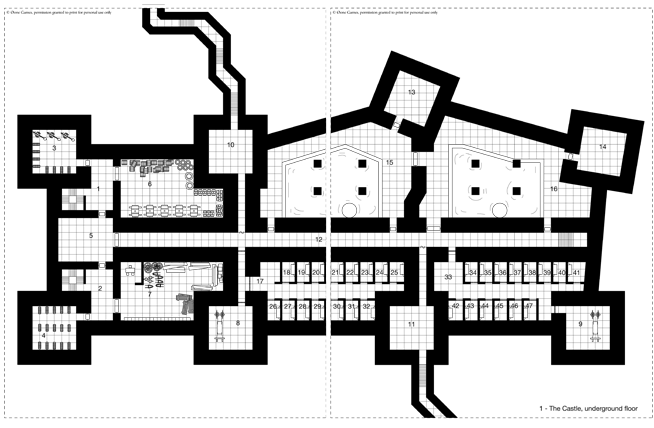 The Great City Castle Ward pages 22 and 23