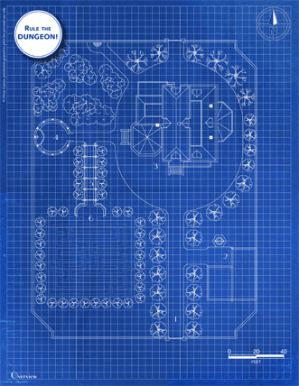 Victorian House blueprint page 4