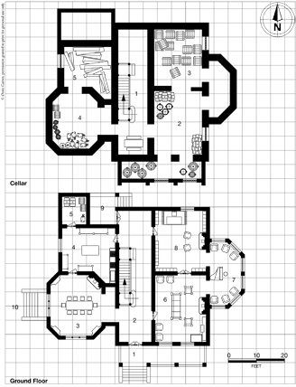 Victorian House blueprint page 7