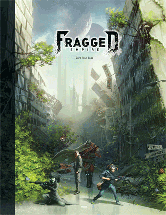 Fragged RPG Cover